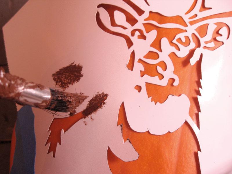 It's just an image of Free Printable Deer Stencils regarding pattern