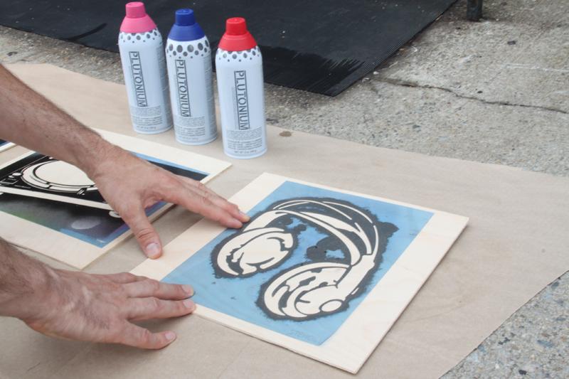 spray paint stencils