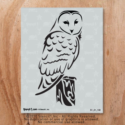 Printable owl stencils - photo#18