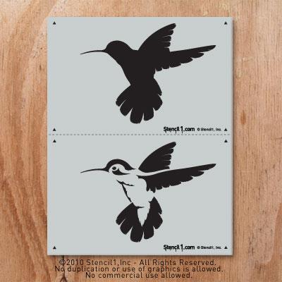 Go back gt gallery for gt hummingbird stencil designs