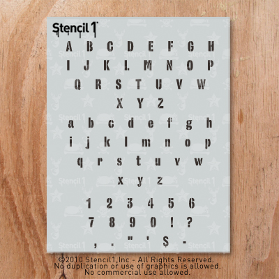font 9 - $15.00 : airbrush stencils store, air brushing stencils
